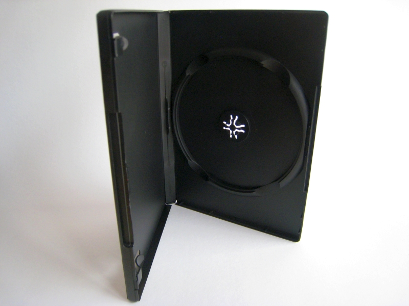 14mm DVD Case for Single Disc - Automation Ready